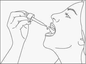 Administering a tincture