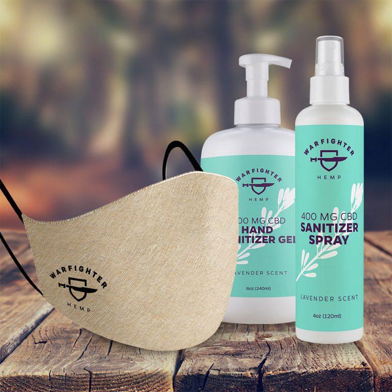 Protection Bundle, Protection Bundle, Face Mask, Hand Sanitizer Gel, Hand Sanitizer Spray