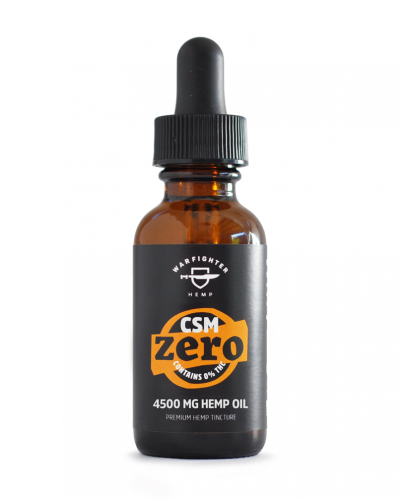 CSM 4500mg CBD – Zero THC Hemp Oil