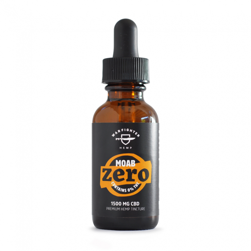Moab 1500mg CBD – Zero THC Hemp Oil