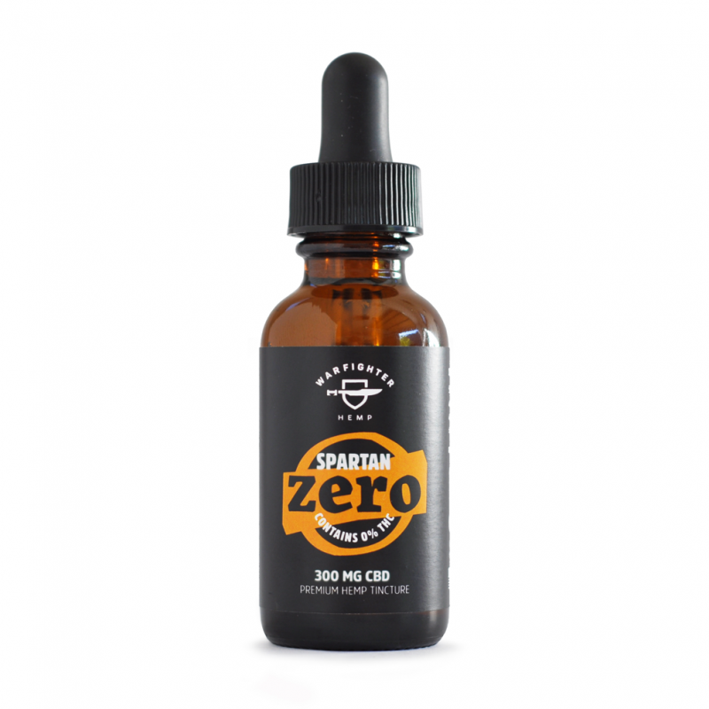 Spartan 300mg CBD – Zero THC Hemp Oil