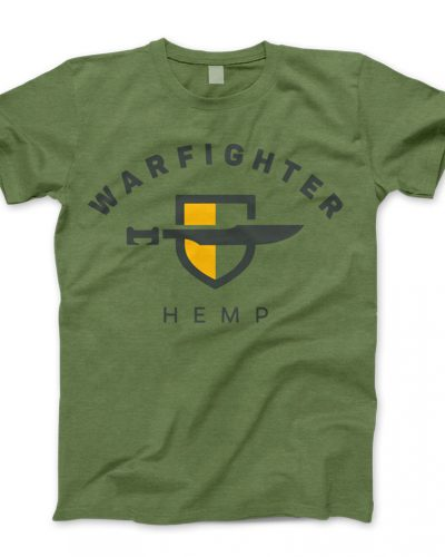 Warfighter Hemp Gear - Shirt - Green