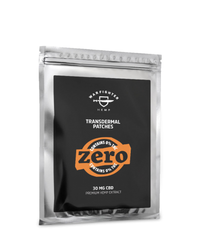 30mg CBD – Zero THC Transdermal Patch
