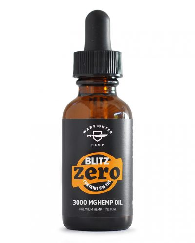 Blitz 3000mg CBD – Zero THC Hemp Oil